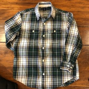 Other - 💌 3 for $30 💌 Boys size 8 plaid Gap button down